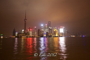 Pudong Skyline by Huangpu River from The Bund