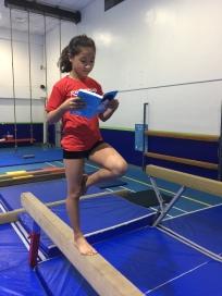 Reading at training